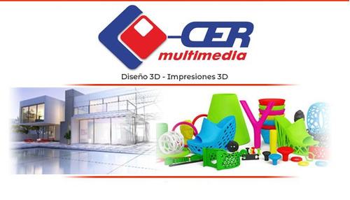 impresión 3d para diseño industrial, prototipos, etc.
