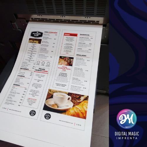 impresión a3+ / super a3 digital full color 300gr