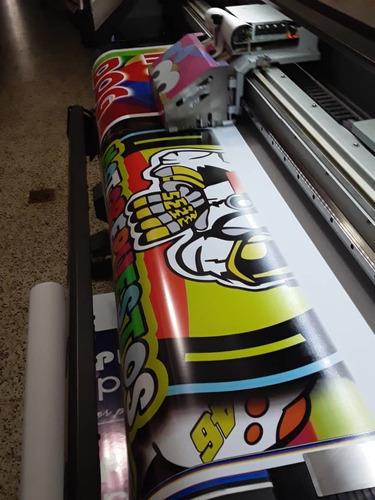 impresion banner pendones pancartas avisos vallas 24 horas