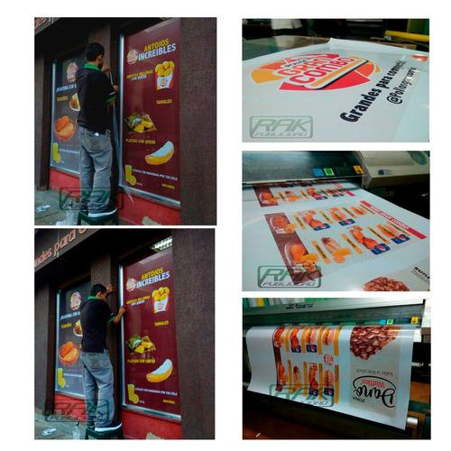 impresión banner - pendones -stickers - diseño gráfico.