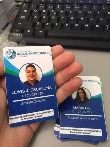 impresión carnets pvc, licencias, lanyards y más en chacao
