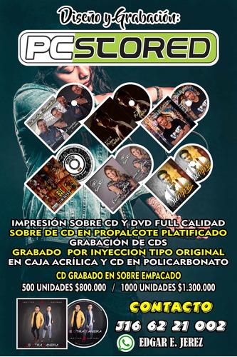 impresión cd - dvd en bucaramanga - multicopiado de discos