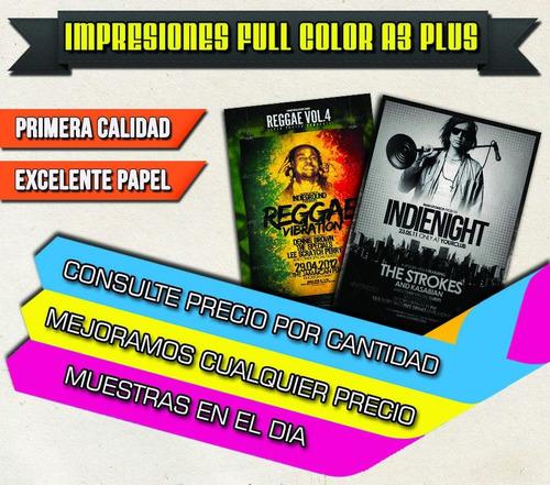 impresión color a3 a4 copias laser calidad premium!!