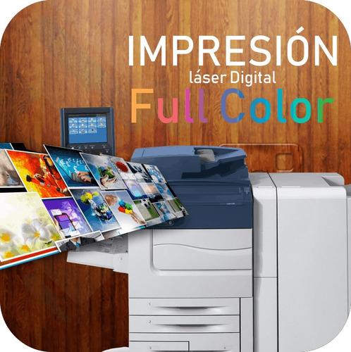 impresion color  manuales libros en pdf medicina,etc.