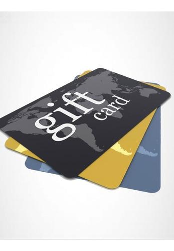 impresión credenciales de pvc gift card full color