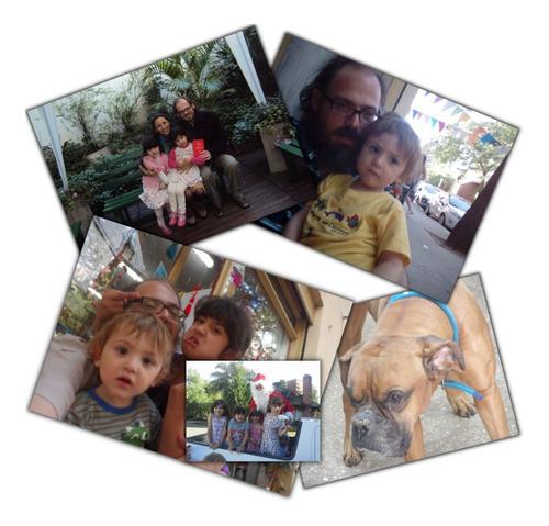 impresión de 4 foto 5x7 kodak o fuji souvenir