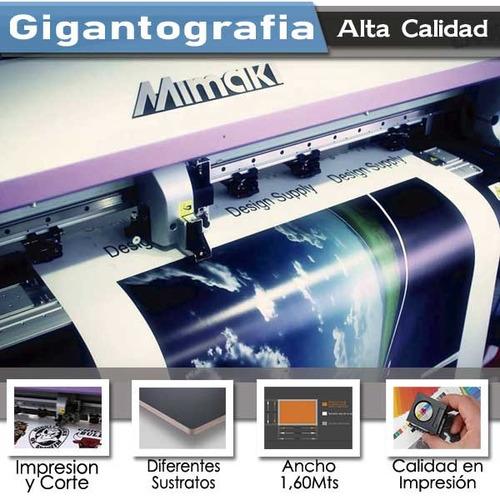 impresión de alta calidad pendones, gigantografia rotulacion