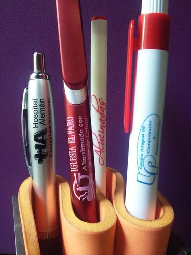 impresión de bolígrafos