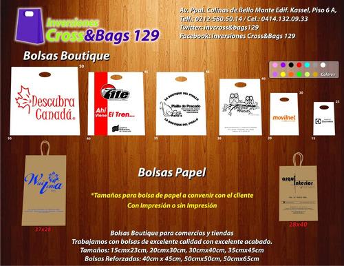 impresión de bolsas plásticas , de papel y bolsas p.o.p