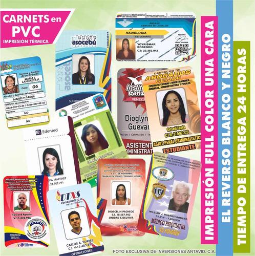 impresion de carnet credi card y pvc