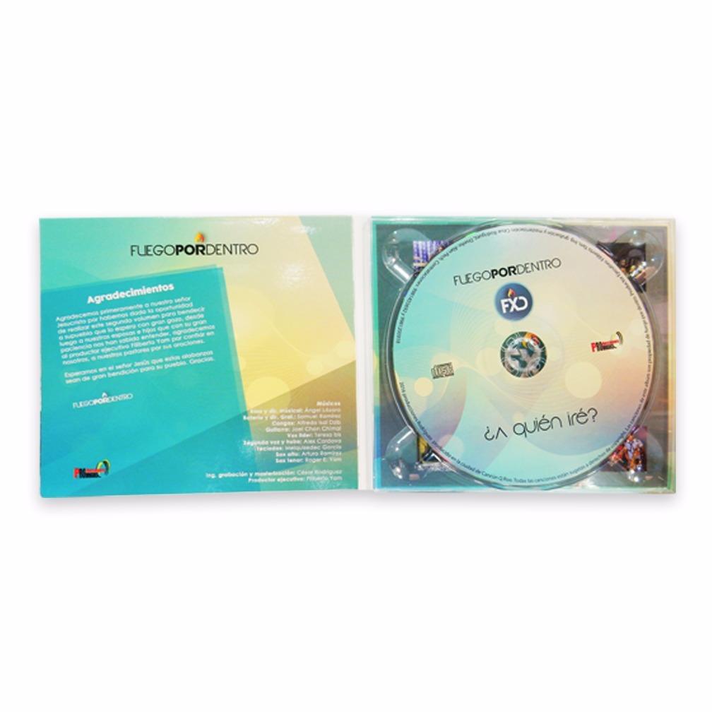 Impresión De Cd 100 Discos En Digipack Díptico Diseño Gratis ...