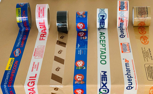 impresión de cinta adhesiva