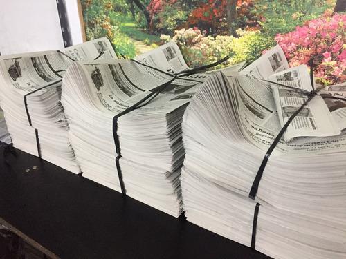 impresión de diarios y períodicos en formato tabloide