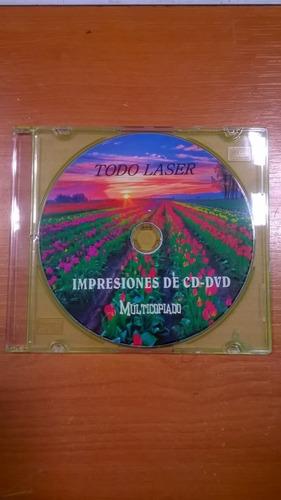 impresión de dvd/cd alta calidad directo en cd/dvd