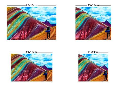 impresión de fotografías de 20x15 15x15 13x18 13x13 cm