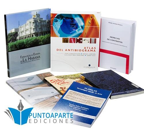 impresión de libros, publicar libro, edición libro
