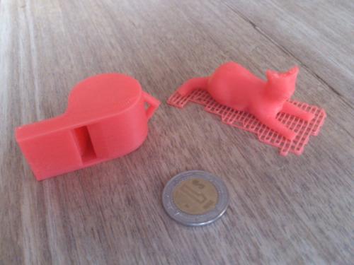 impresión de muestra en impresora 3d