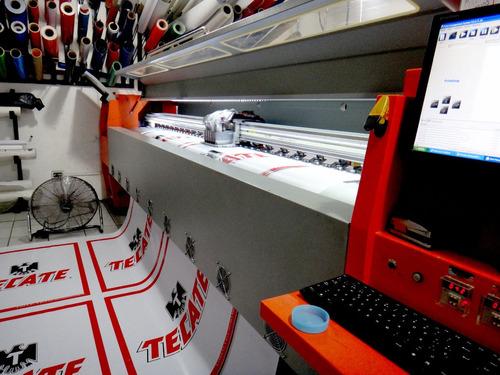 impresión digital, empavonado, tela pvc, adhesivo, letreros