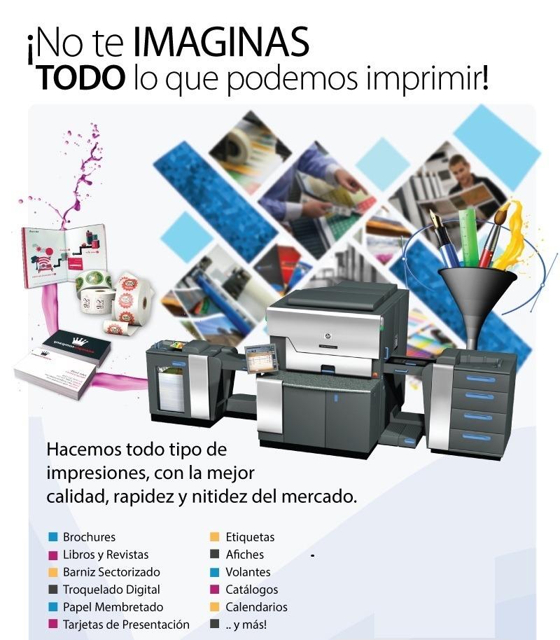 Impresion Digital Offset Hasta A3+ Diferentes Papeles Lima - S/ 10 ...