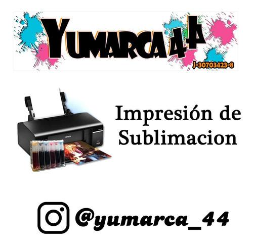 impresión en sublimacion