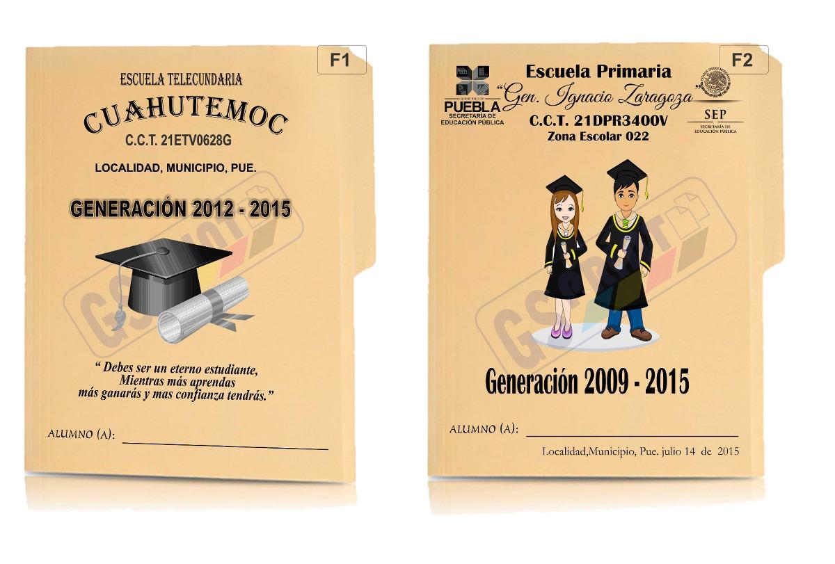 Impresion Folders Graduacion Económicos - $ 4.50 en