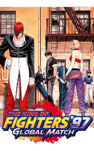 impresión foto - poster the king of fighters 60 x 90 cm
