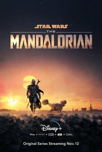 impresión foto - poster the mandalorian 60 x 90 cm
