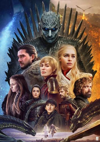 impresión foto - posters game of thrones 60 x 90 cm