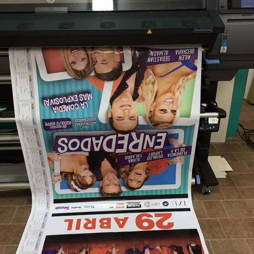 impresión hp latex banners lona vinilo telas canvas ecocuero