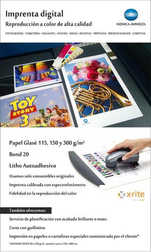 impresion láser imprenta digital