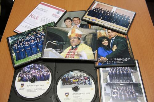 impresión - multicopia cd y dvd. traspasos de videos a dvd