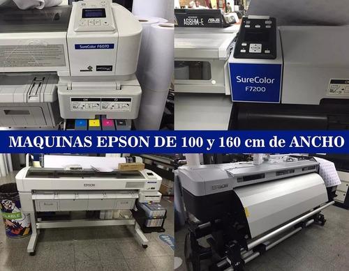impresión papel de sublimación metro lineal x mas de 500 mt