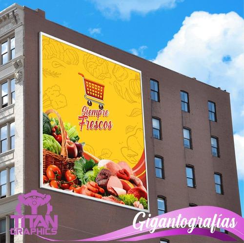 impresion publicidad x mts2 de banner vinil micro y mas!