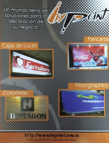 impresión sticker banner vinil pendon afiche gigantografia
