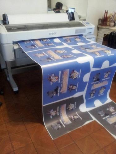 impresión sublimacion 112 m con plotter epson f6070