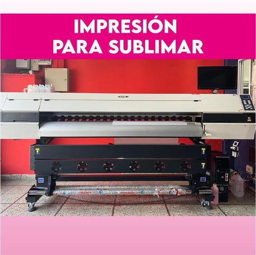 impresión sublimación por metro lineal 178 y 160cm de ancho