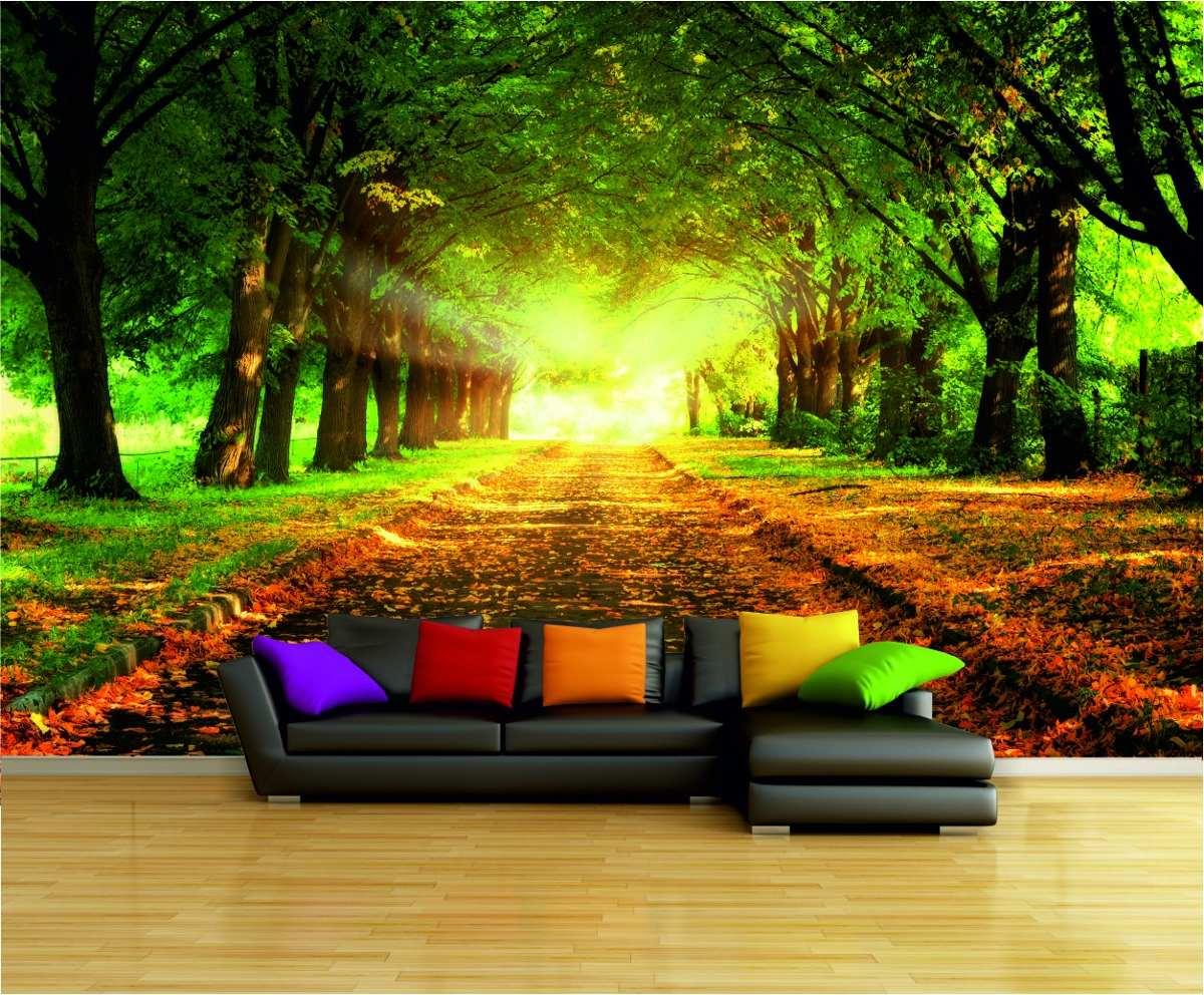 Vinilos decorativos paisajes naturales estamos seguros Murales vinilo para paredes paisajes