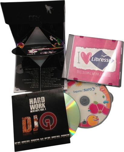 impresión y duplicación de cd-dvd  multicopiado de discos