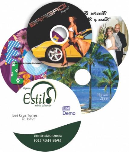 impresion y multicopiado cd y dvd, discos,quemado, empresa