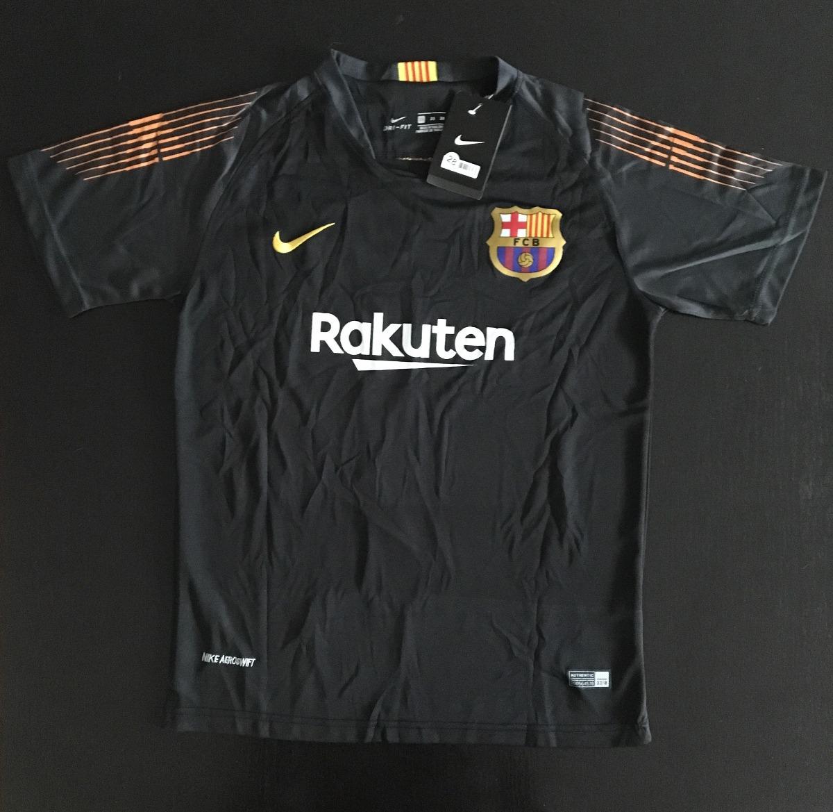 ce8ea3d22 impresionante jersey barcelona niño portero ter stegen negro. Cargando zoom.