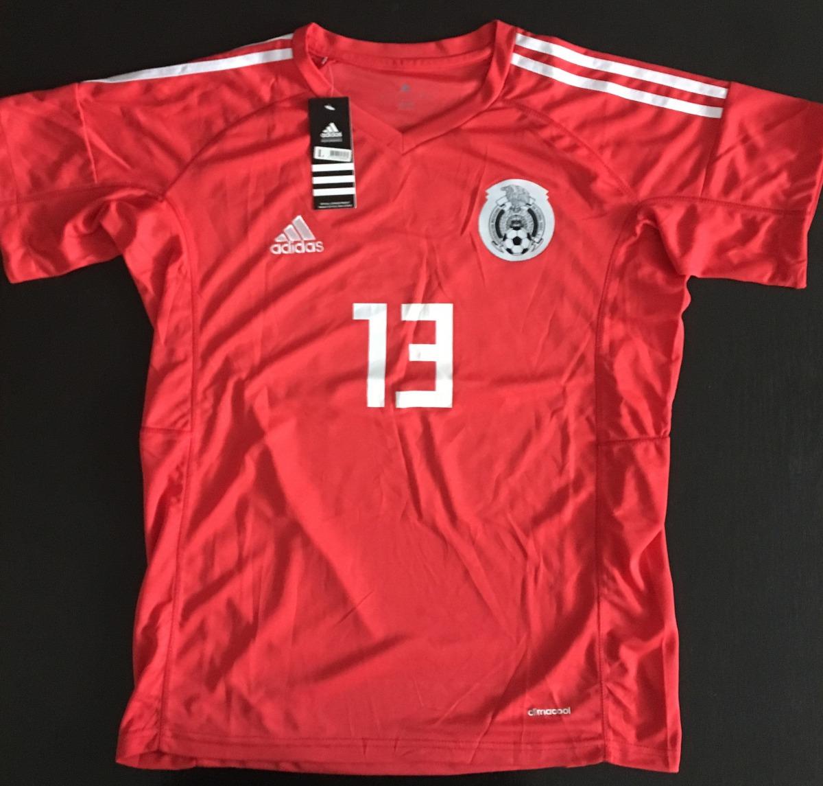 dfac7bce504fe Impresionante jersey portero arquero mexico rojo memo ochoa cargando zoom  jpg 1200x1145 Jersey portero de mexico