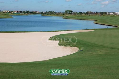 impresionante lote en el golf financiado