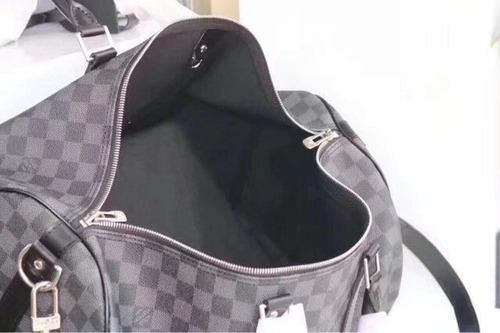 311aecf9d Impresionante Maleta Equipaje Louis Vuitton Lv Domino Negro ...