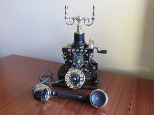 impresionante telefono antiguo ericsson eiffel tower - 1895