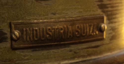 impresionante teodolito suizo circa 1937 grabado funciona