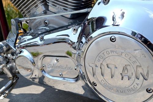 impresionante titan motorcycle sidewinder 1573cc motor s&s