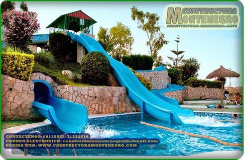 impresionantes construcciones de parques acuáticos
