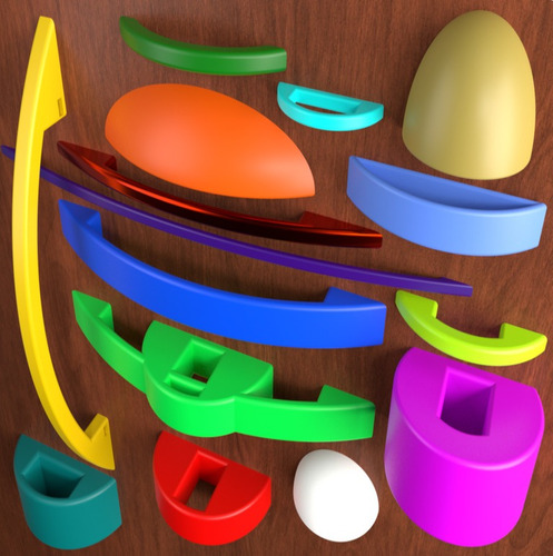 impresiones 3d de alta calidad en filamentos variados