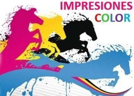 impresiones a color, n/b diseños digitales