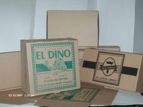 impresiones s/cajas microcorrugado 2 col x 1000 unidades